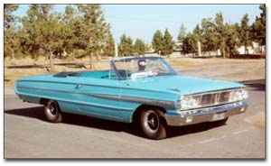 Banana Dan Calliano's 1964 Galaxie 500 Convertible